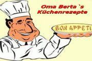 """Oma Berta`s Küchenrezepte """"Apfeltaschen"""""""